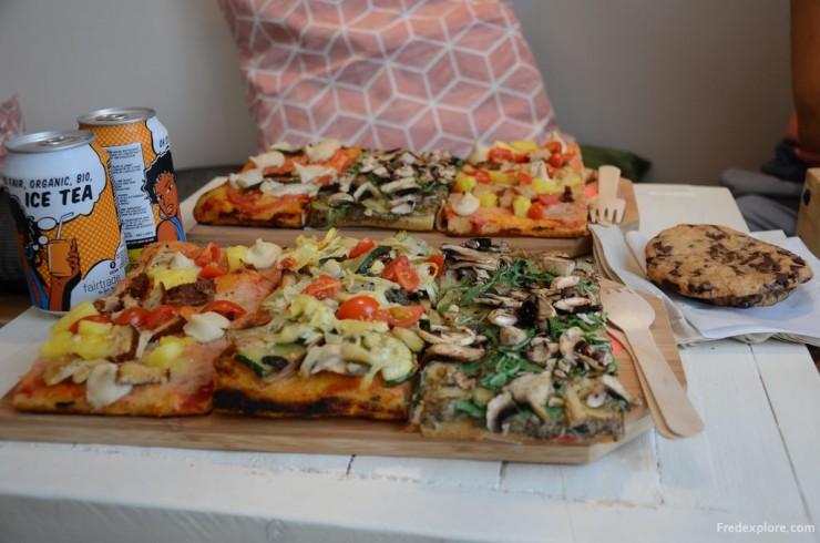 Hank Vegan Pizza Paris