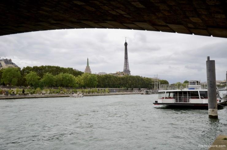 Tour Eiffel et La Seine