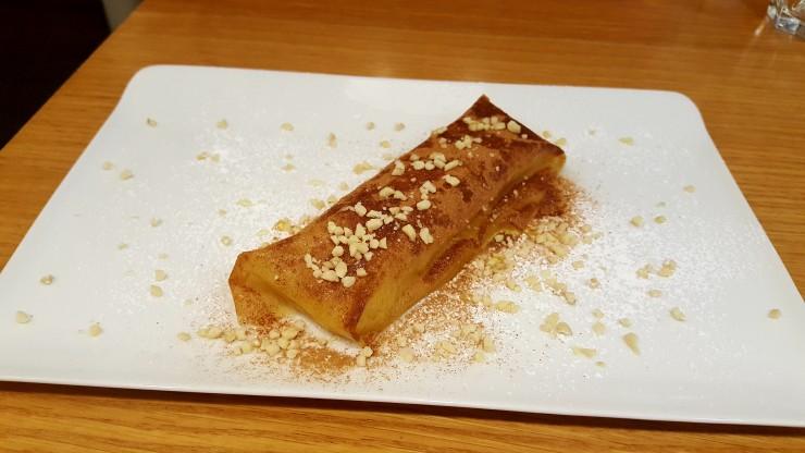 Pastilla Marrakchia, lait, amandes et fleurs d'oranger