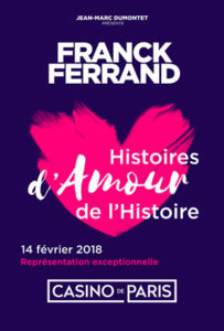 Spectacle Franck Ferrand